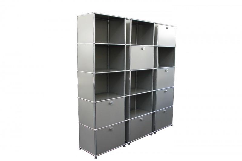 USM Haller Wall Shelf Boss Grey
