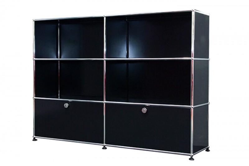 USM Haller Sideboard / Highboard Graphite Black RAL 9011