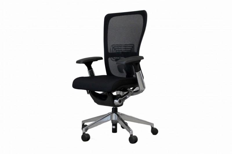 Haworth® Comforto 89 Bürodrehstuhl Stoff / Netz / Schwarz