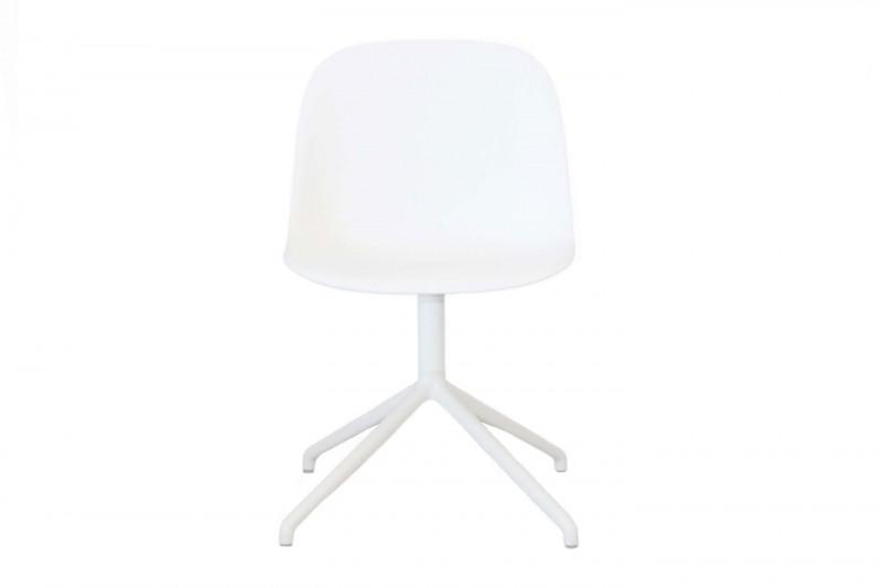 Muuto Fiber Side Chair Weiß
