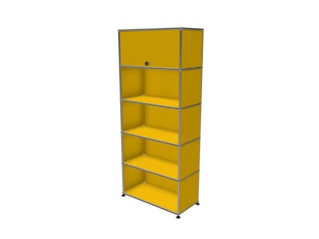 USM Haller Wall Shelf / Shelf Golden Yellow RAL 1004