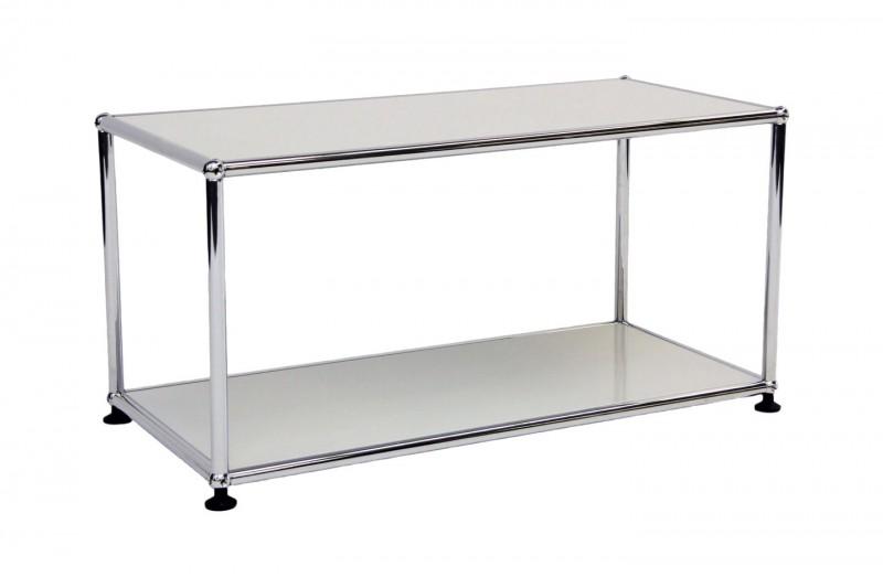 USM Haller side table 75 x 35 cm light grey
