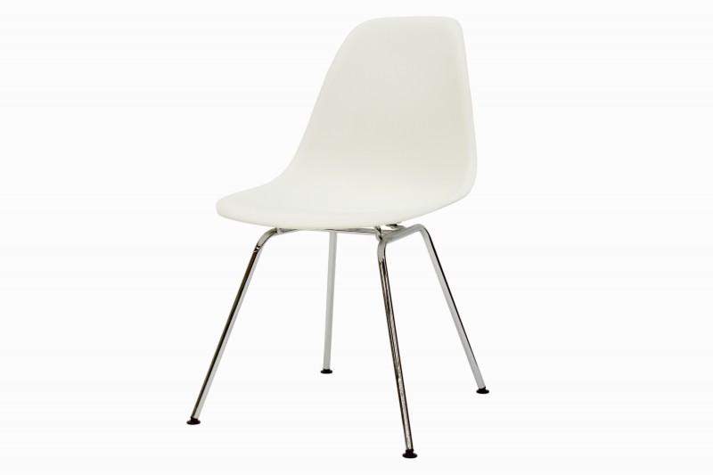 Vitra Eames Plastic Side Chair DSX Stuhl Weiß