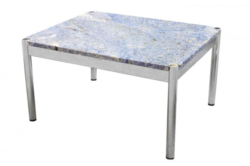 USM Haller Beistelltisch Granit Blau 60 x 75 cm