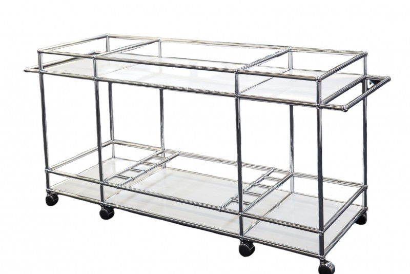 USM Haller Serving Cart XXL Pure White RAL 9010