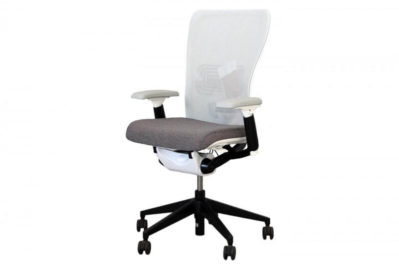 Haworth® Comforto 89 Bürodrehstuhl Stoff / Netz / Grau / Weiß