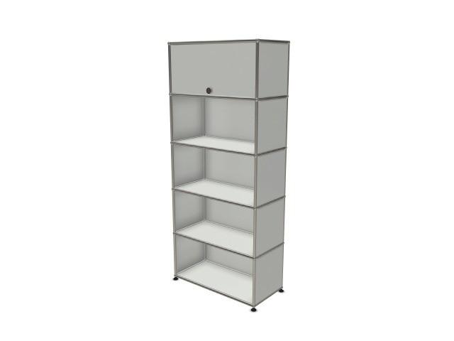 USM Haller Wall Shelf / Shelf Light Grey RAL 7035