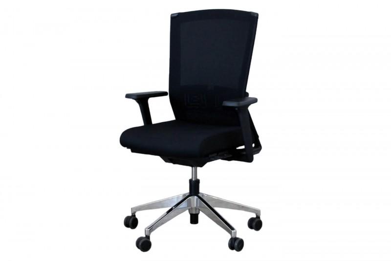 Haworth® Comforto Dynaflex Bürodrehstuhl Stoff / Netz / Schwarz