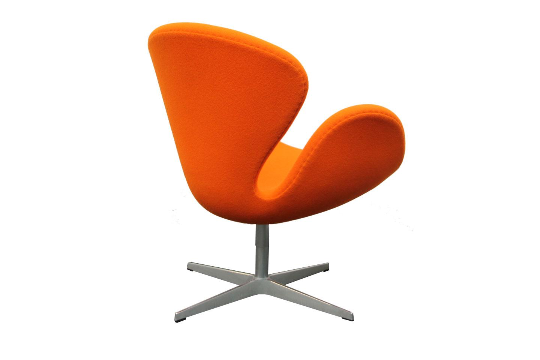 Fritz Hansen Swan Chair Stoff / Orange   Sessel   Lobby ...