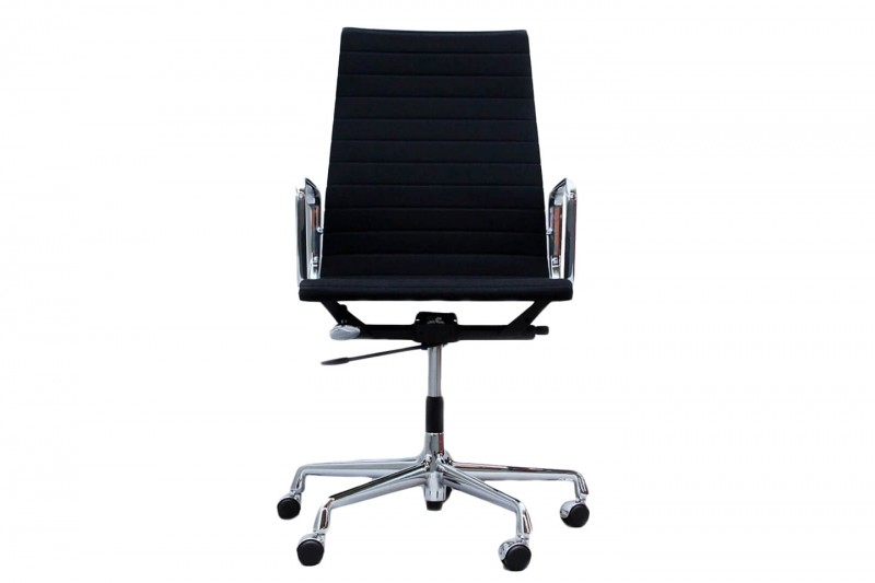 Vitra Aluminium Chair EA 119 Office Swivel Chair Hopsak / Black