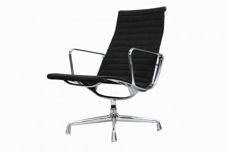 Vitra Aluminium Group Chair EA 115 Hopsak / Schwarz / Grau