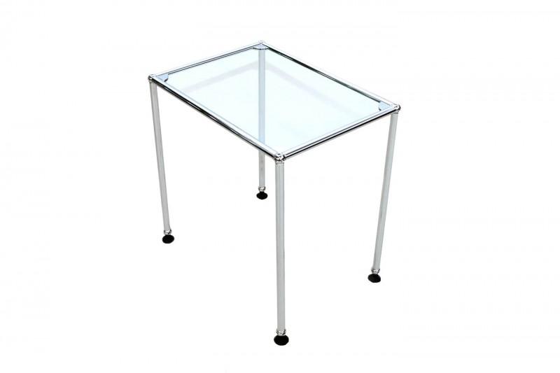 USM Haller Beistelltisch Glas 50 x 35 cm