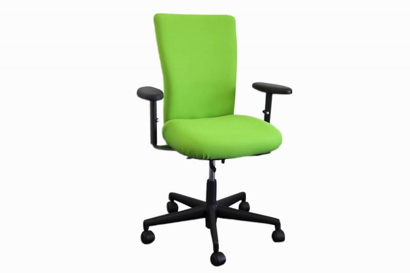 Vitra T-Chair Bürodrehstuhl Stoff / Grün