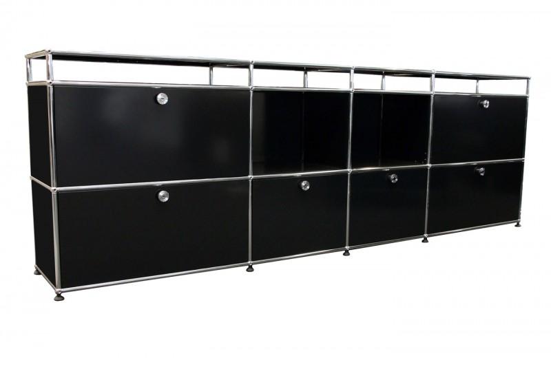 USM Haller Sideboard Graphitschwarz RAL 9011