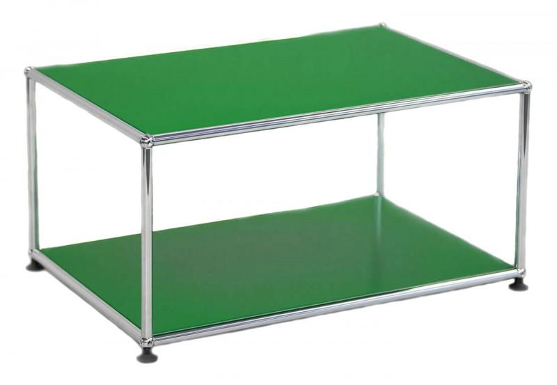 USM Haller Beistelltisch USM Grün 75 x 50 cm