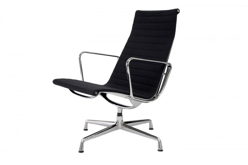 Vitra Aluminium Group Chair EA 115 Hopsak / Schwarz