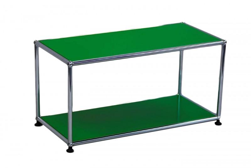 USM Haller Beistelltisch USM Grün 75 x 35 cm