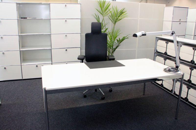 USM Haller Desk Granite 200 x 100 cm