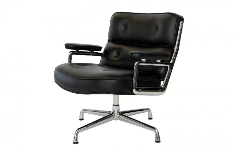 Vitra Lobby Chair ES 108 Leather / Black