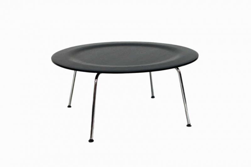 Vitra Plywood Group CTM Tisch / Coffee Table Schwarz