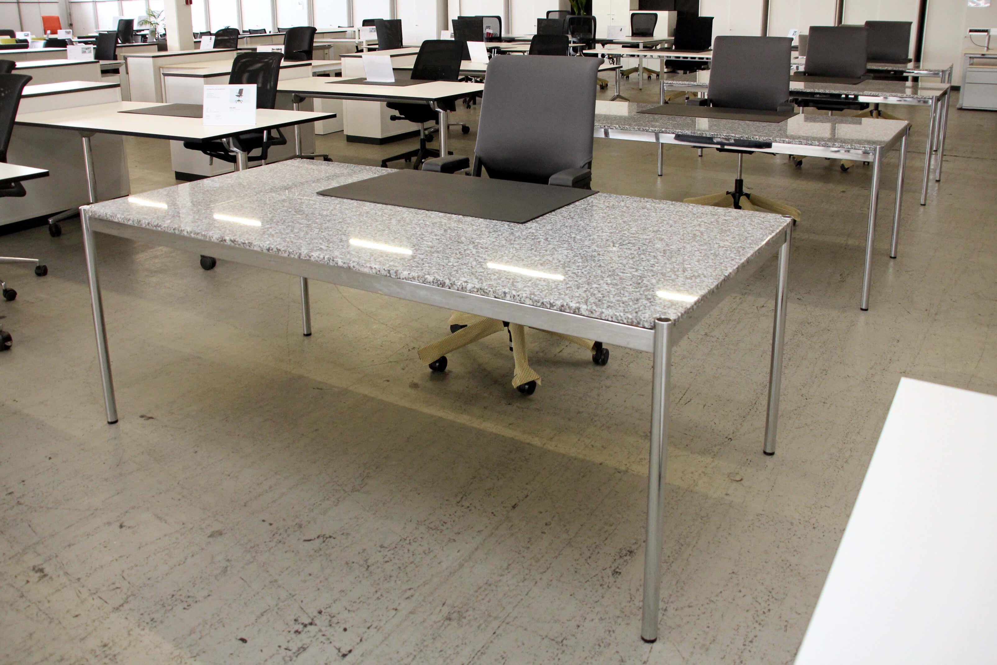 Usm Haller Granit Schreibtisch 200 X 100 Cm Desks Usm Haller