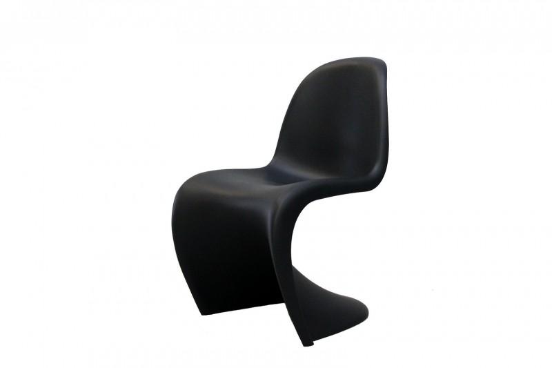 Vitra Panton Chair Kunststoff Schwarz Bestuhlung Vitra
