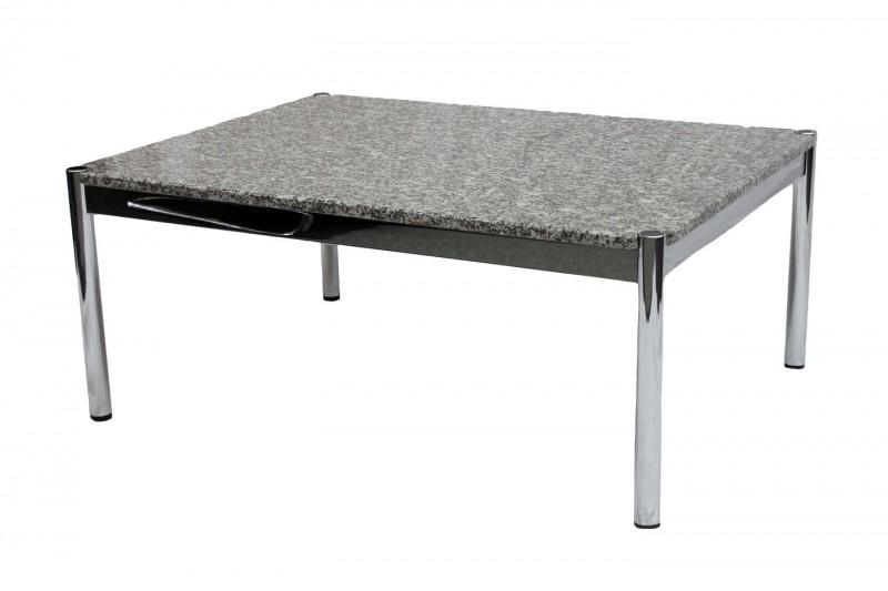 USM Haller Beistelltisch Granit / Schwarz / Grau / Weiß 75 x 100 cm