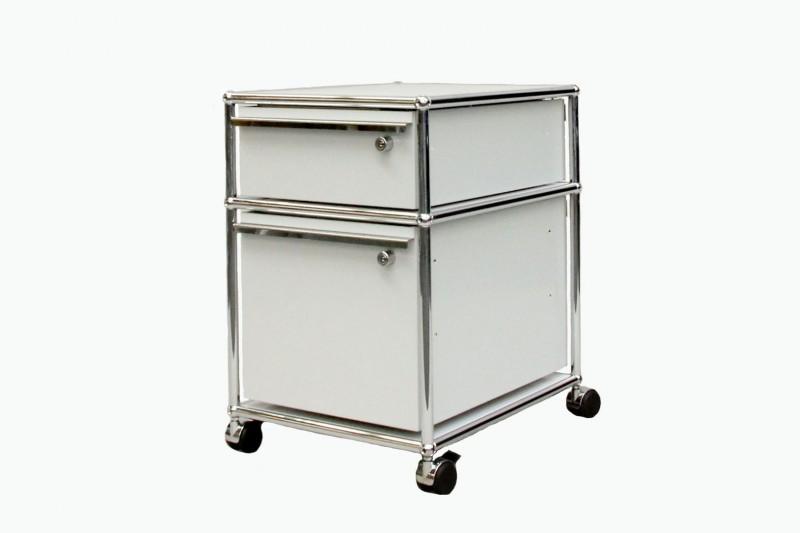 Usm haller rollcontainer mit 2 schubladen rollcontainer usm haller designklassiker - Usm haller rollcontainer ...