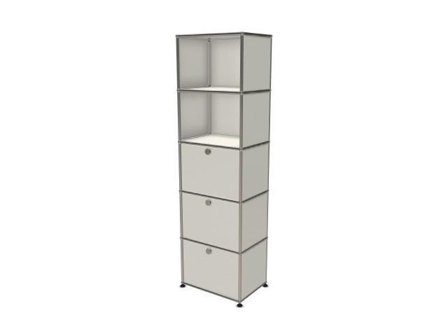 USM Haller Wall Shelf Pure White RAL 9010