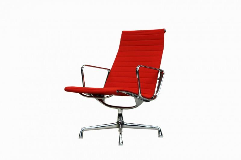 Vitra Aluminium Group Chair EA 115 Hopsak / Rot