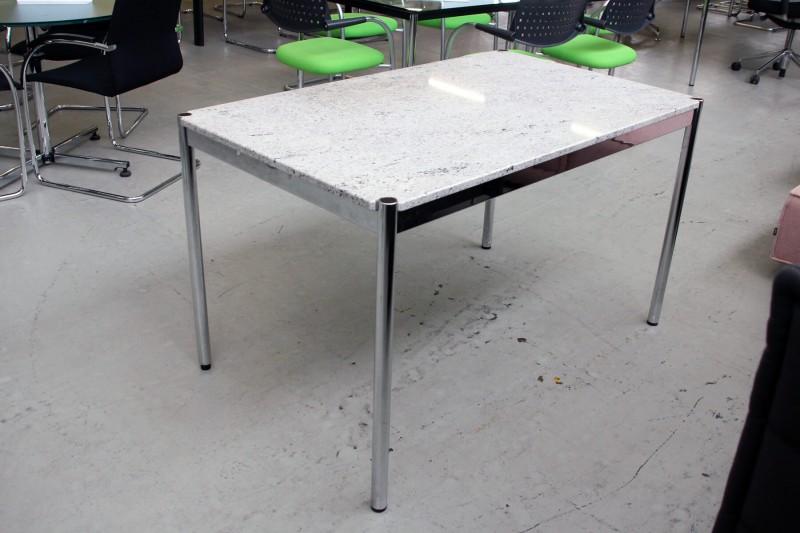 USM Haller Granit Schreibtisch 125 x 75 cm