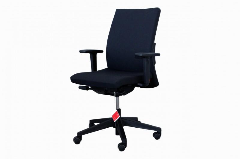 Haworth® Comforto 39 Bürodrehstuhl Stoff / Schwarz