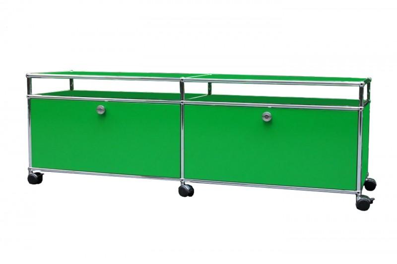 USM Haller TV-Board / Lowboard USM Grün