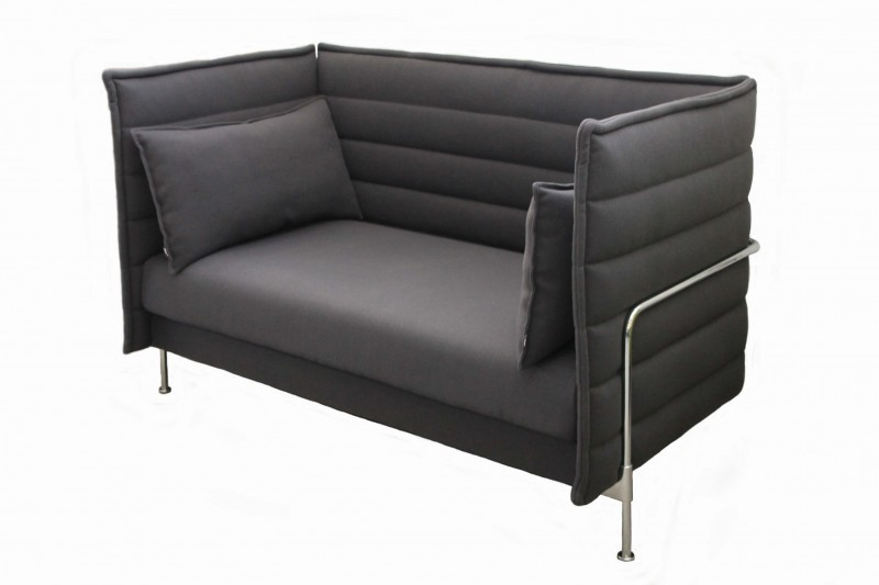 vitra alcove love seat sofa lobby vitra designklassiker. Black Bedroom Furniture Sets. Home Design Ideas