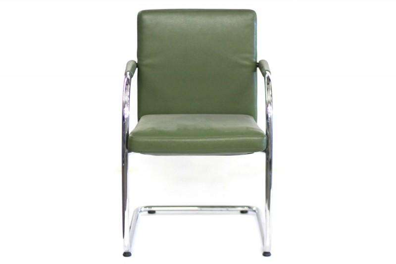 Vitra VisaSoft Chair Leather / Green