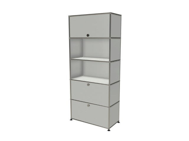 USM Haller Wall Shelf Light Grey RAL 7035