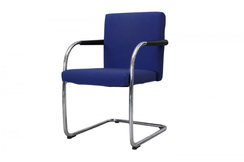 Vitra VisaSoft Chair / Conference Chair Fabric / Blue