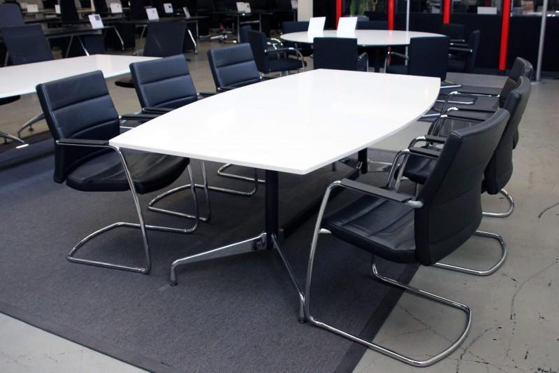Vitra Konferenztisch Granit / Weiß 220 x 120 cm