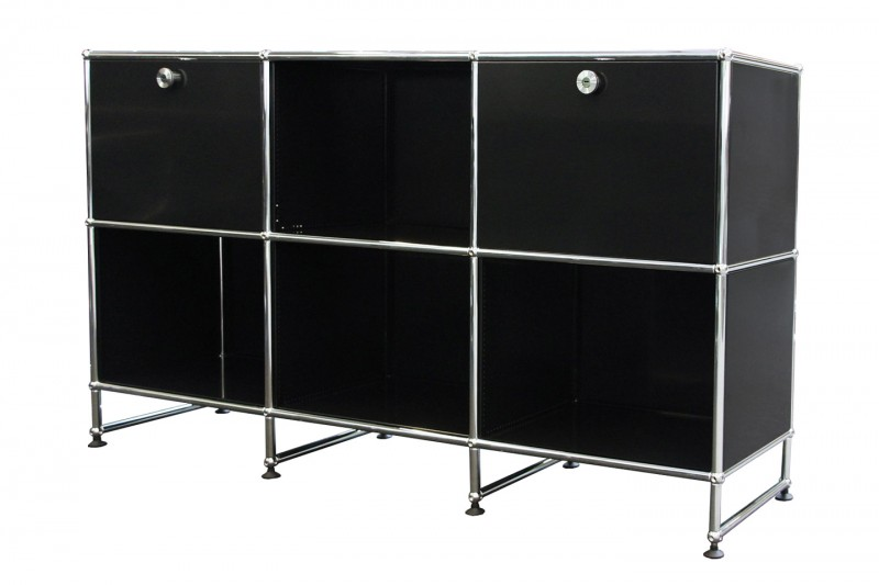 USM Haller Sideboard Graphite Black RAL 9011