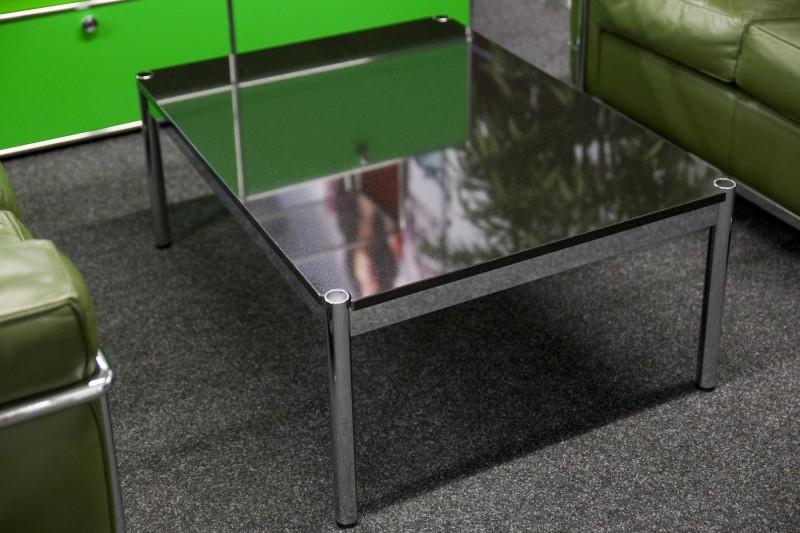 USM Haller Beistelltisch Granit / Schwarz 100 x 75 cm