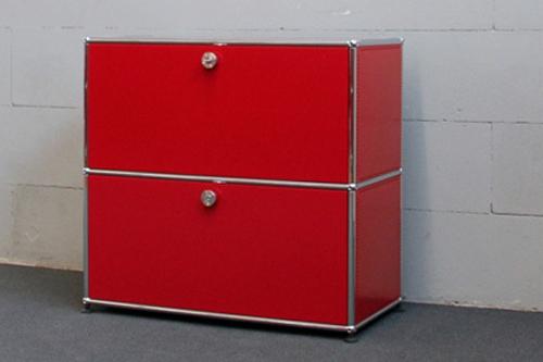 Usm Haller Sideboard Usm Ruby Red