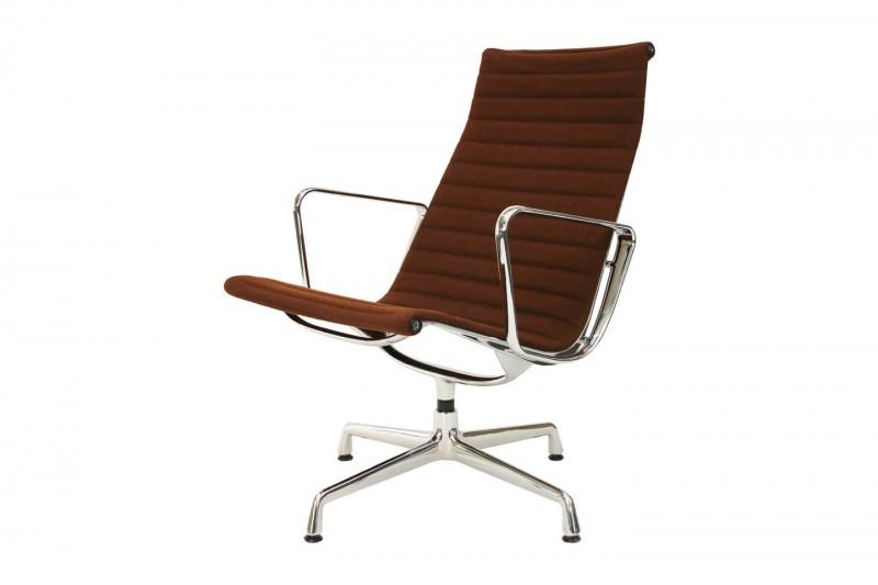 Vitra Aluminium Group Chair EA 116 Hopsak / Braun