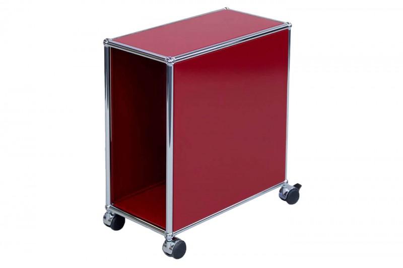 USM Haller Computer Trolley USM Ruby Red
