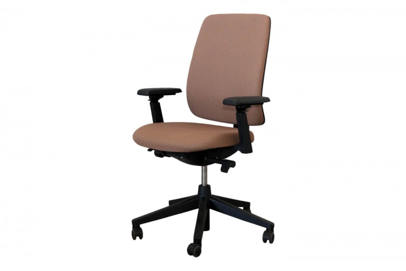 Haworth® Comforto 29 Bürodrehstuhl Stoff / Braun