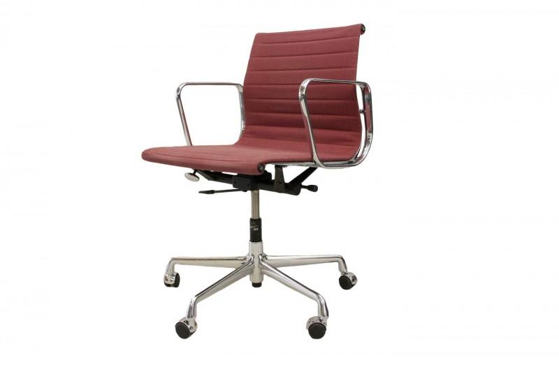Vitra Aluminium Chair EA 117 Bürodrehstuhl Hopsak / Rot