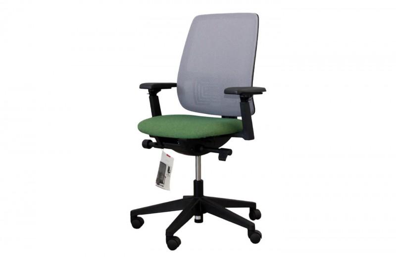 Haworth® Comforto 29 Bürodrehstuhl Stoff / Grau / Grün