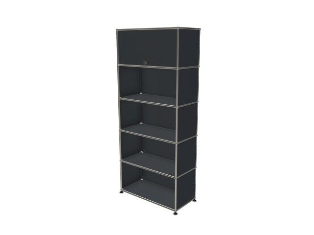 USM Haller Wall Shelf / Shelf Anthracite Grey RAL 7016