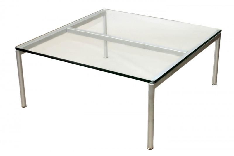 Walter Knoll Beistelltisch Jason Glas 90 x 90 cm